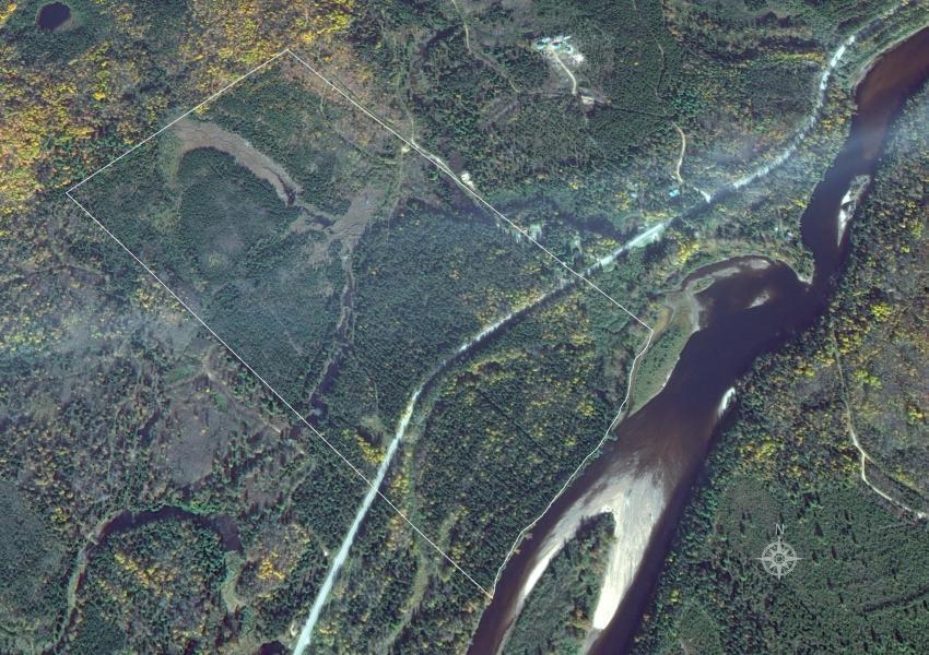 """Propriété forestière, """"Forêt du Mont Saint Michel"""" (lot 13), constructible et divisible à l'Ouest de la province du Québec dans l'Est Canadien"""