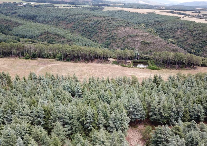 Enclos de chasse dans le département de l'Aude