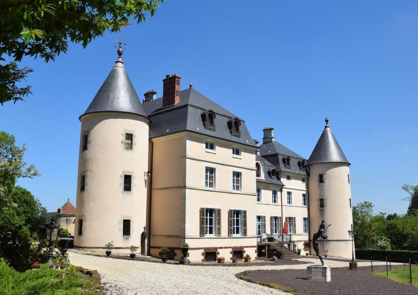 Domaine à la française en région Centre-Val de Loire