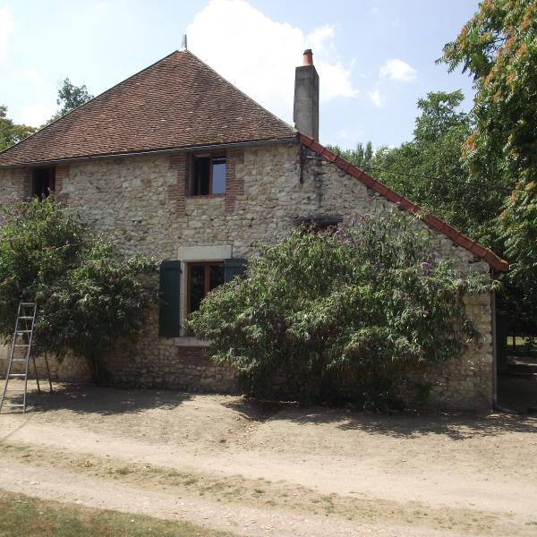 Propriété bâtie en bord de Loire