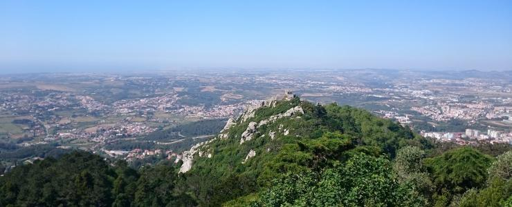 La région forestière de Lisbonne