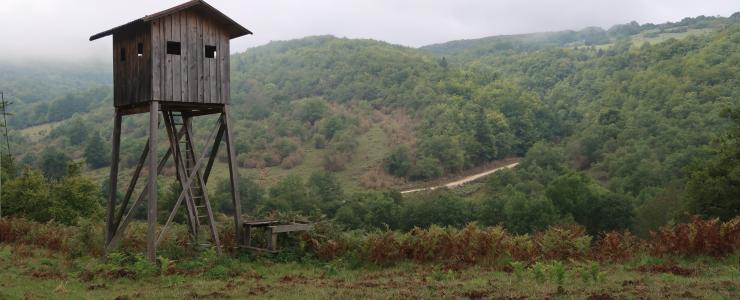 Domaine de Chasse au coeur de la Drôme